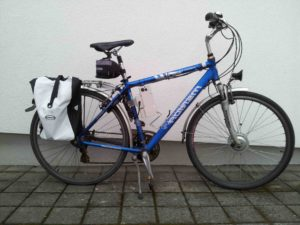 My workhorse – over 5'500 km done yet with localhost/ebikekit/ebikekit-ready